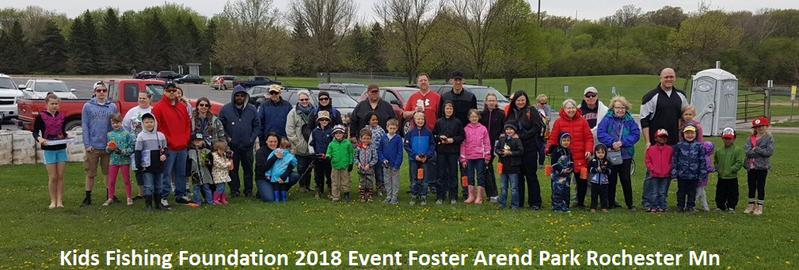 2018 kids fish free event