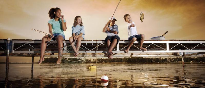 Kids fish free main banner image